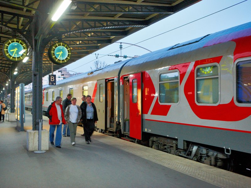 Train russe billets de train russe
